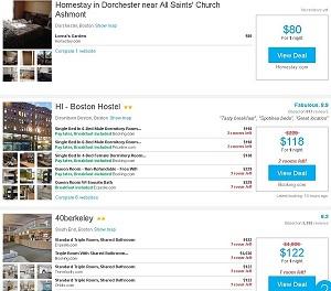 Rental Rooms in Boston