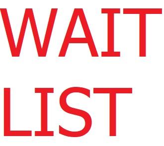 Wait List for apartmentts